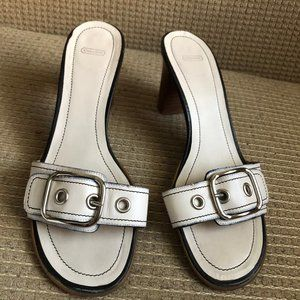 Coach Women's White Shoes
